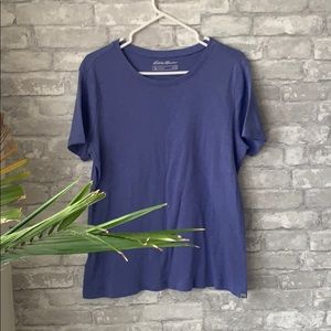 🌱fresh listing! Eddie Bauer purple t-shirt